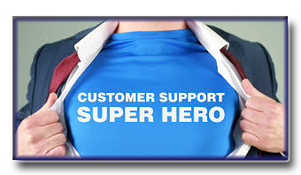 The best customer support. We'll work hard to earn your business and your trust. Let us help.