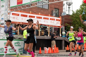 There' s nothing like the rush of crossing the finish line. From the minute you take off form the starting line and all through the marathon or triathlon all you can think of is the moment you cross the finish line. This portable truss finish line did not let there people down.