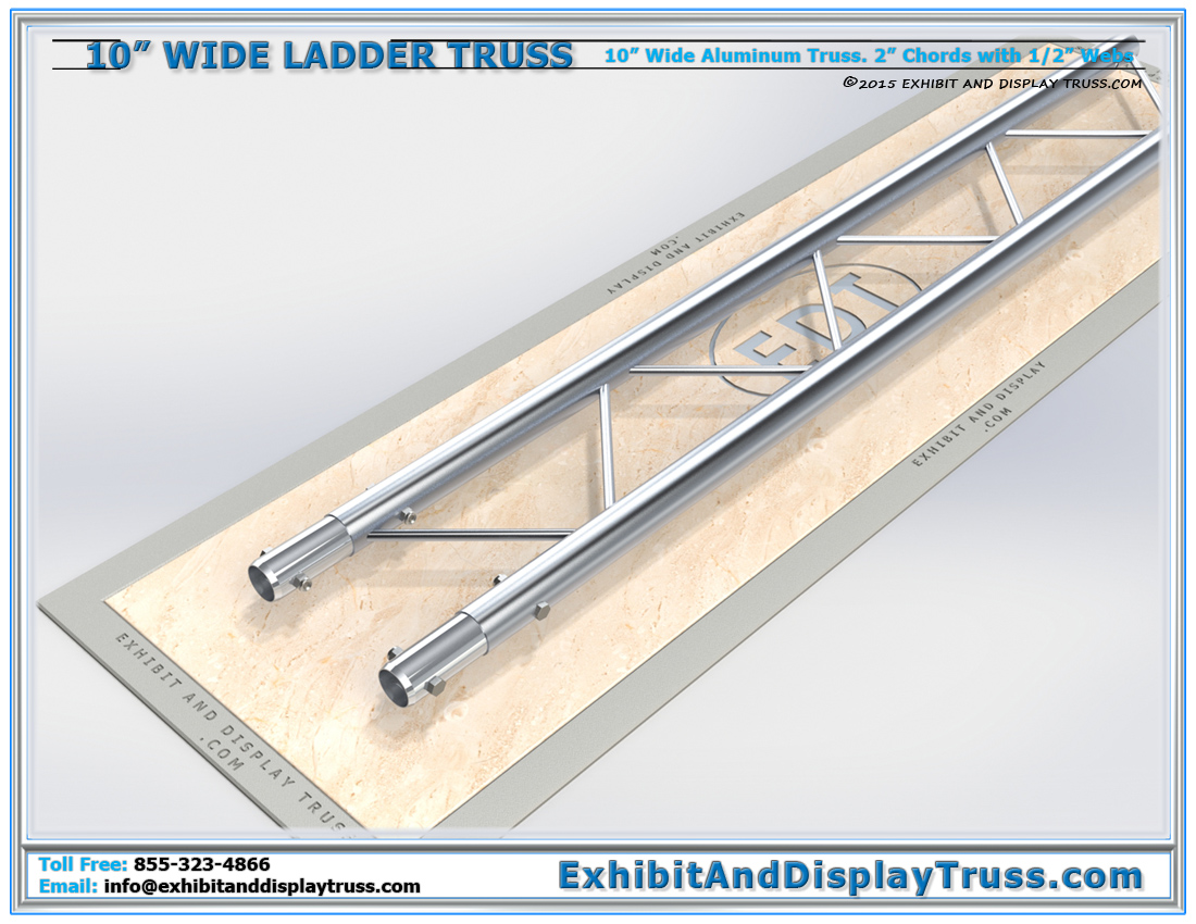 10″ Wide Ladder Truss / Linear Truss Lengths and Pricing