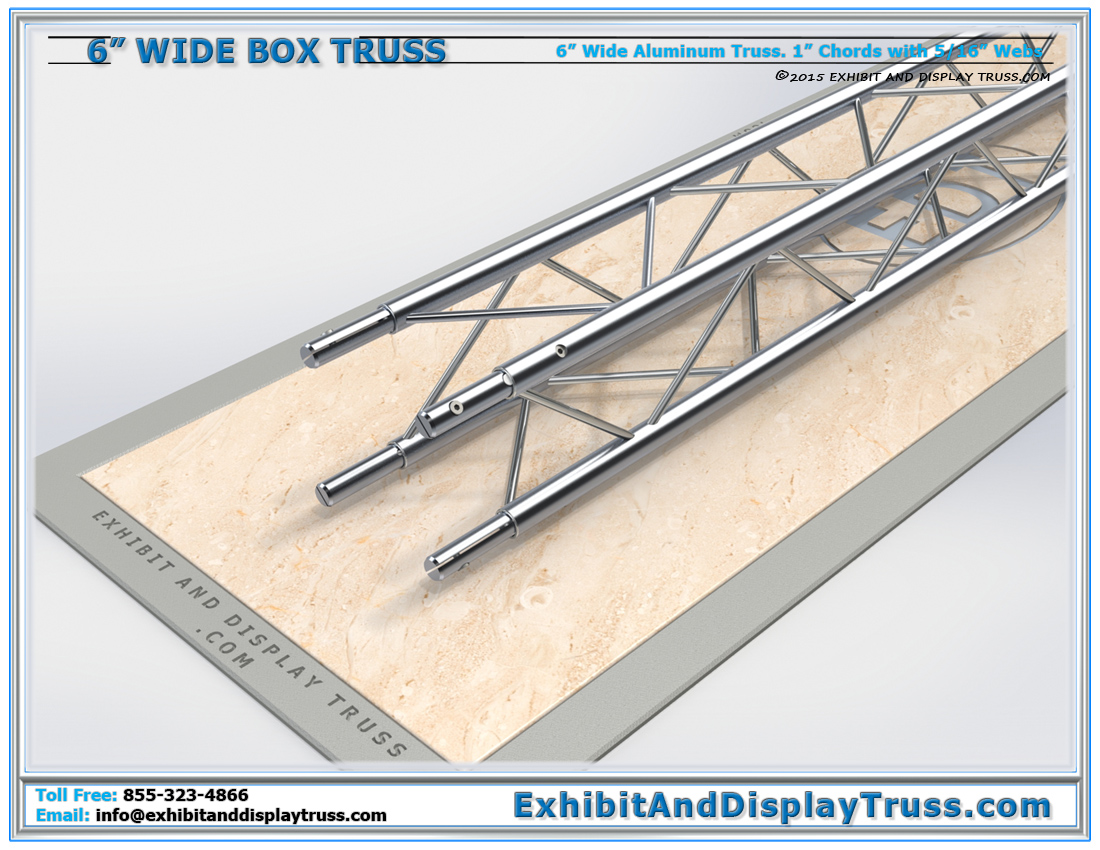 6″ Wide Box Truss / Linear Truss Lengths and Pricing