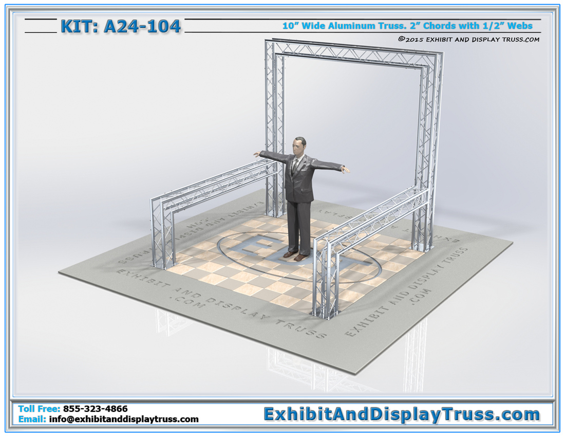 Kit: A24-104 / Truss Kit For Banner Backdrop and Tabletop Displays