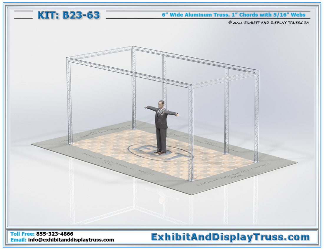 Kit: B23-63 / Lightweight and Durable Truss Rig for Retail Environments