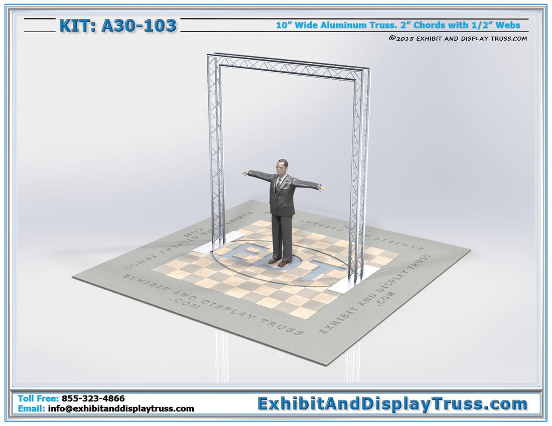 Kit: A30-103 / Truss Arch and Entranceway for Backdrop or Sign Wall