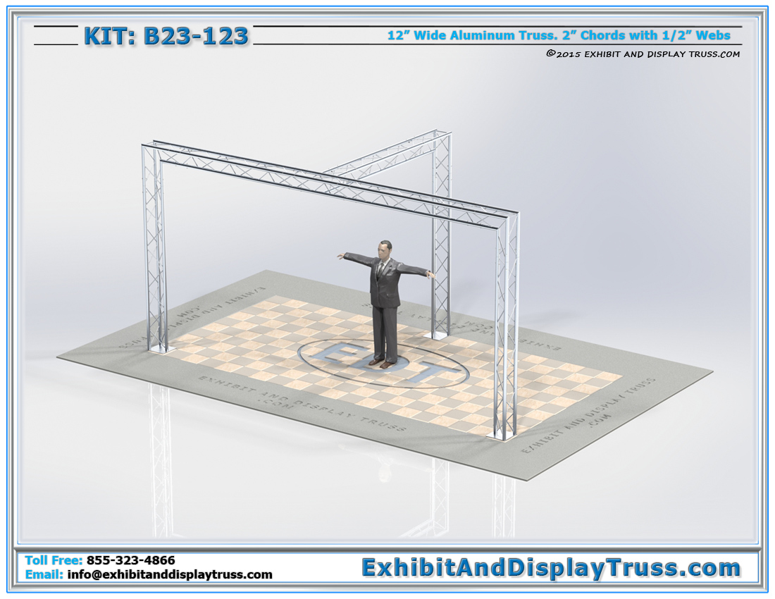 Kit: B23-123 / Best Portable Trade Fair Truss Display