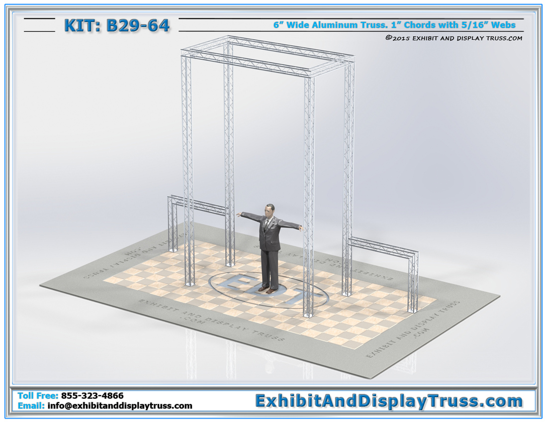 Kit: B29-64 / Portable Truss Entranceway and Archway Structure