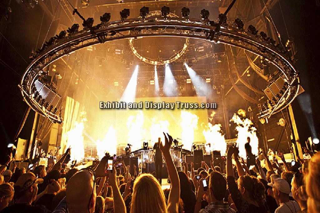 "Stage Truss. 24"" Wide Stage Aluminum Truss"