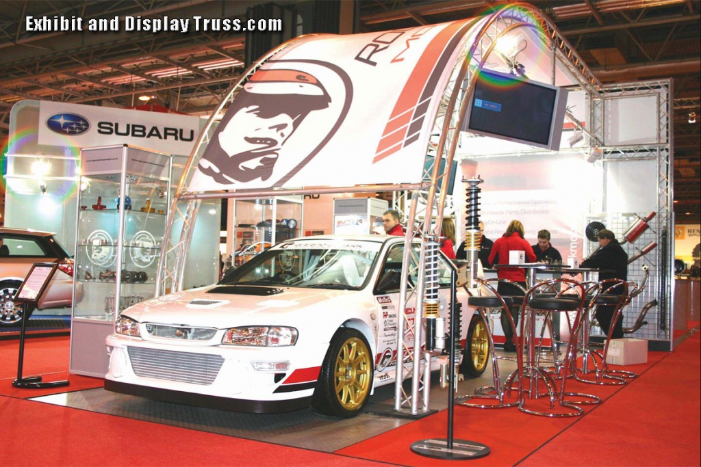 Auto Trade Show Booth Kits for Trade Convention and car shows