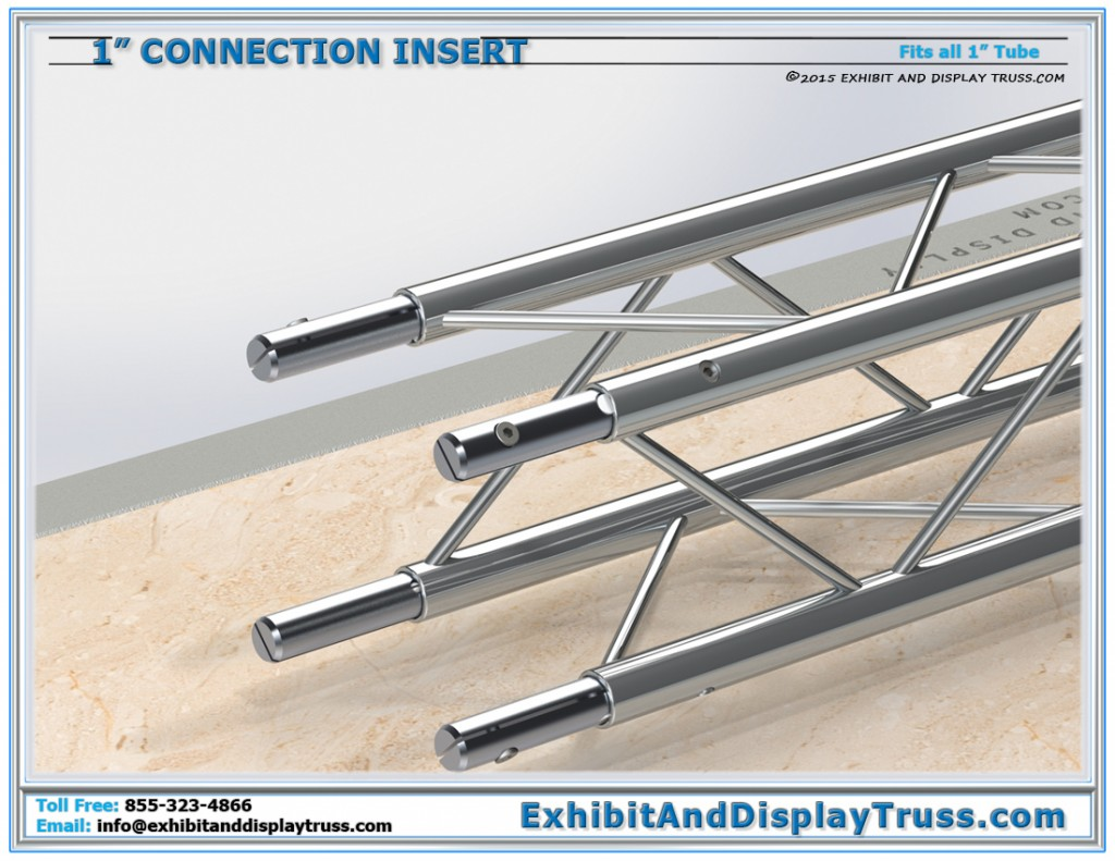 Insert Truss for Connecting 2 Pieces of Truss Together