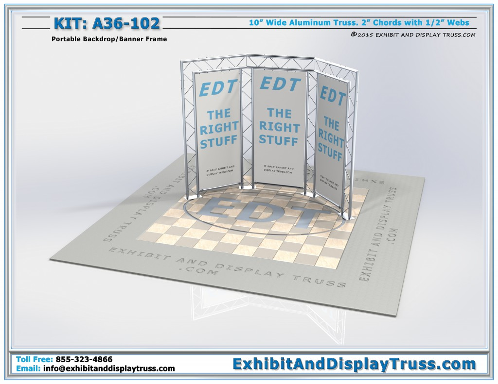 Portable Banner Stands for Trade Show Displays