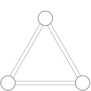 Triangular Truss Profile consists of 3 Chords