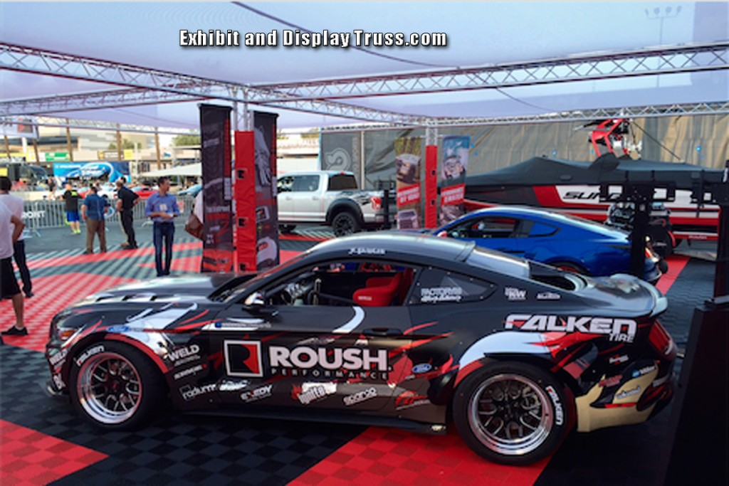 Display Booths for Roush Performance at SEMA Auto Show