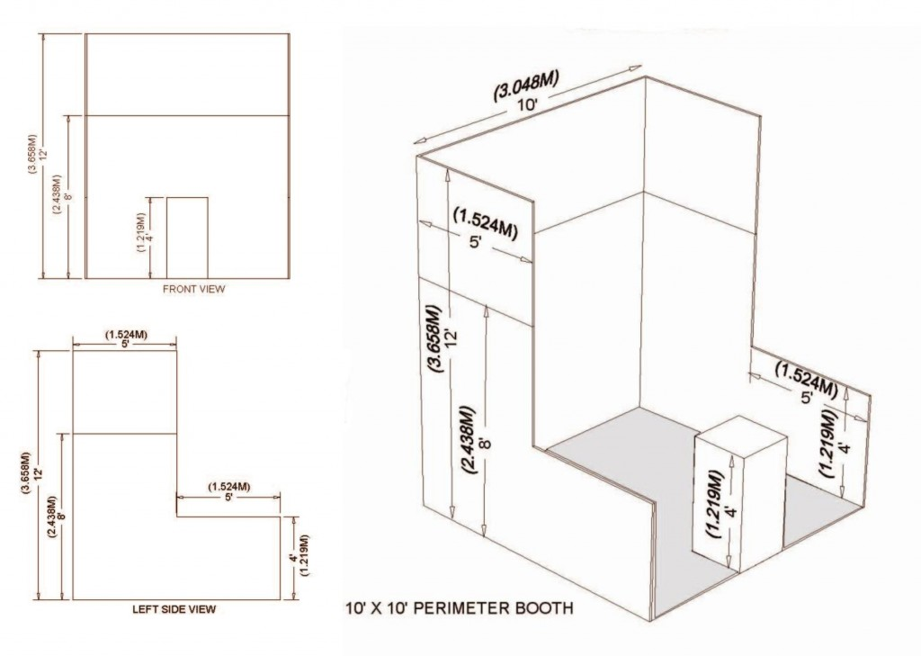 Perimeter Booth Specifications