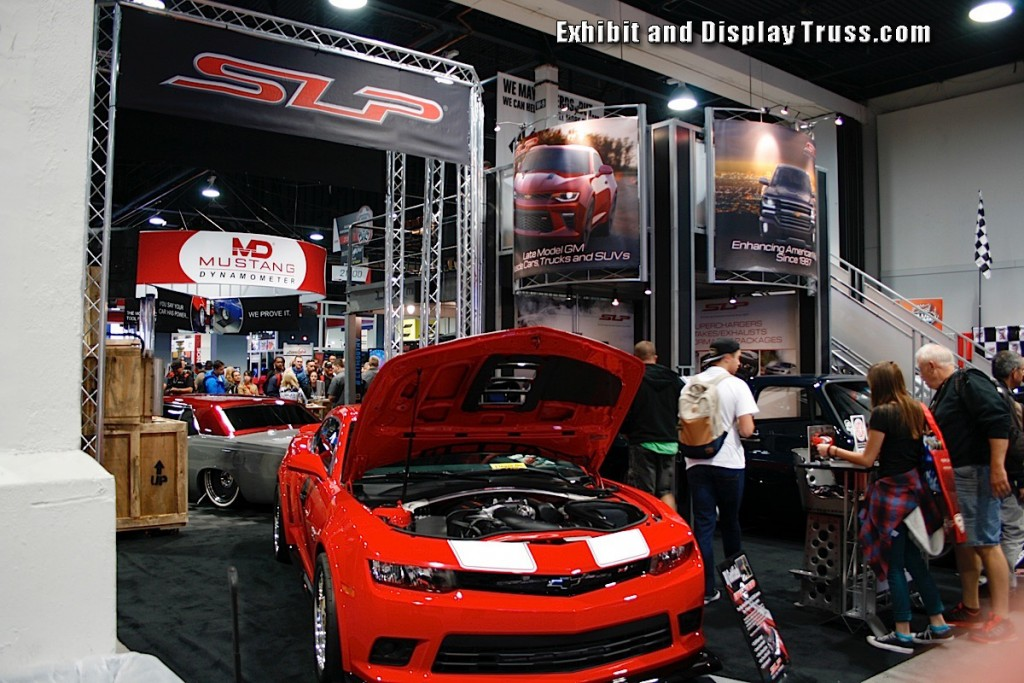 Aluminum Truss Display Systems for Trade Shows and Exhibit Halls
