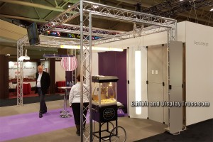 10' x 20' trade show display booth and or trade show exhibit booths. Convention hall exhibit displays.