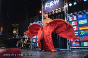 The big entrance at KWTF wrestling. 6