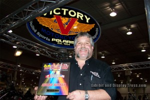 Victory motorcycles wins the best display award in Canada's largest motorcycle super show.