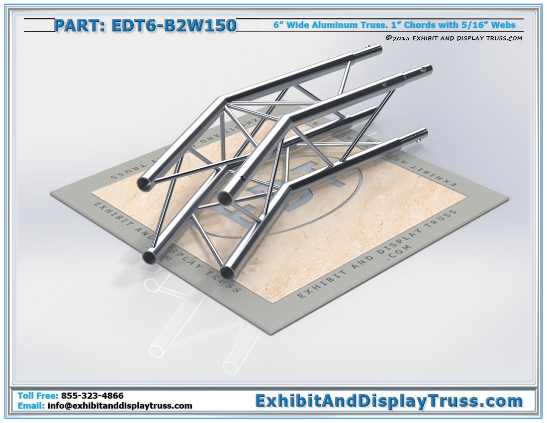 PART: EDT6-B2W150 / 2 Way 150° Box Junction