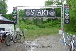 Running, or riding this start line and finish line system from EDT is the best value on the market. The best finish line is the FL-8.