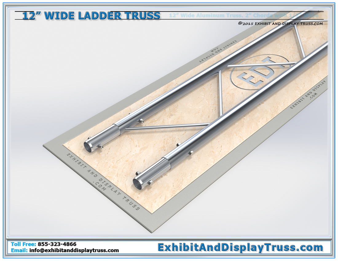 12″ Wide Ladder Truss / Linear Truss Lengths and Pricing