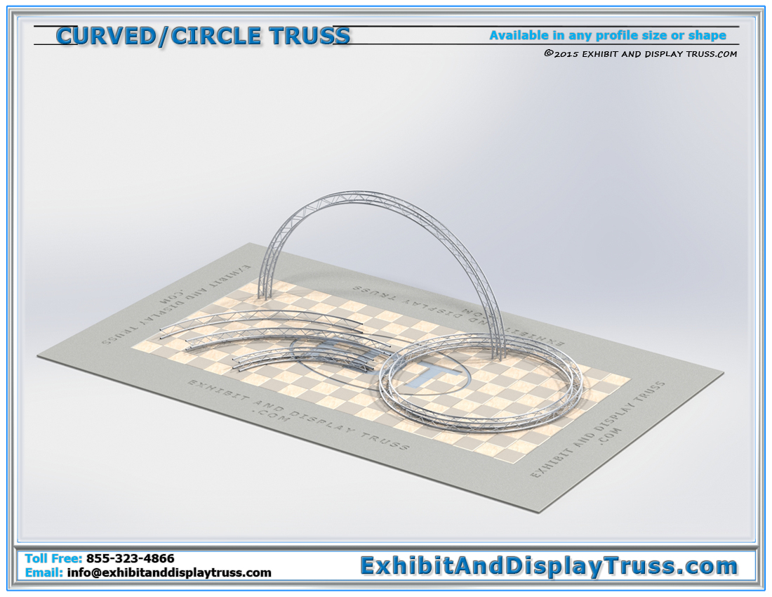 Curved Truss | Aluminum Truss Circles and Truss Radius Sections