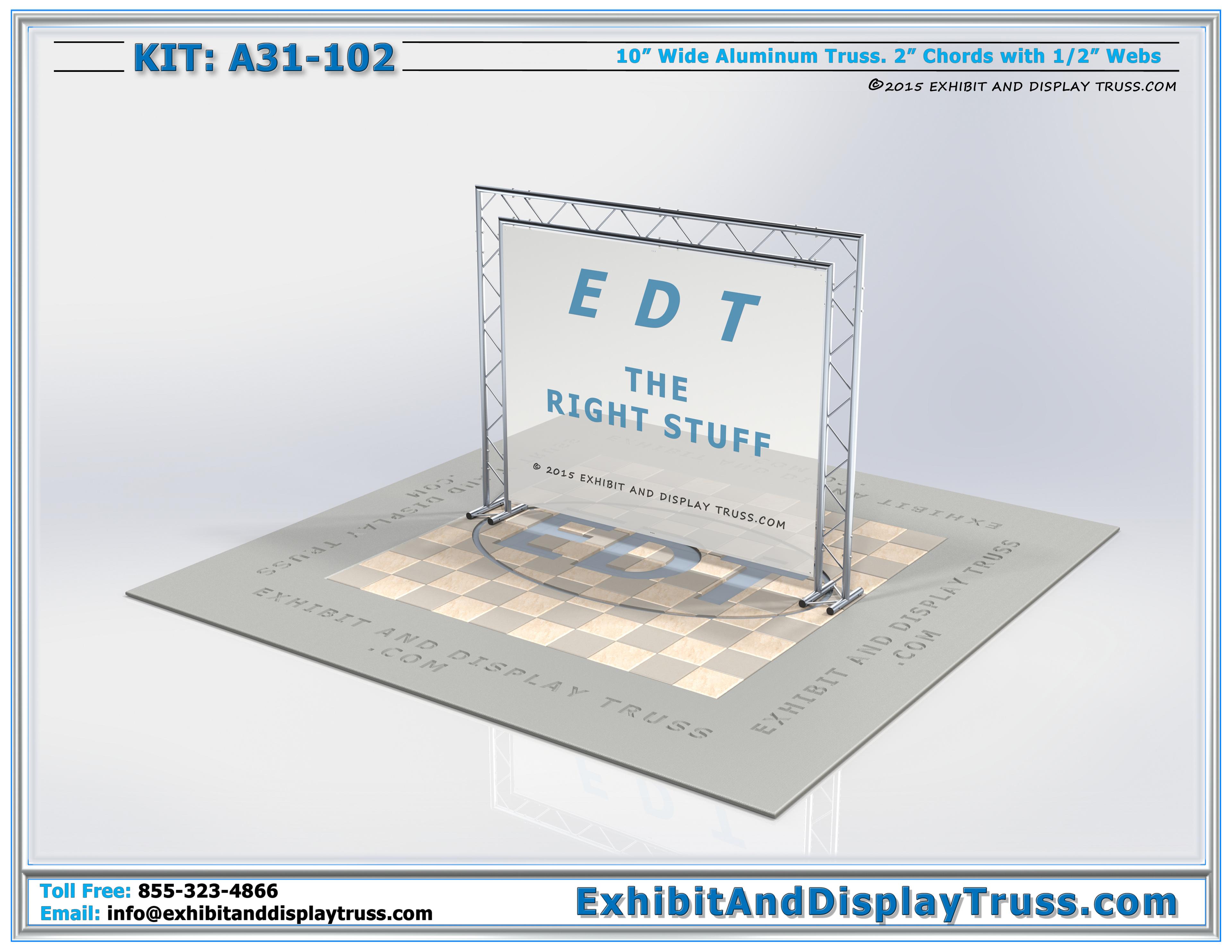 Banner Frames / Sign Frames: Kit A31-102 Banner Frame