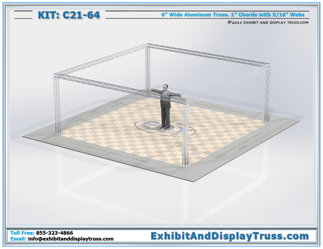 Kit: C21-64 / One of our Best Reviewed Truss Display Kits
