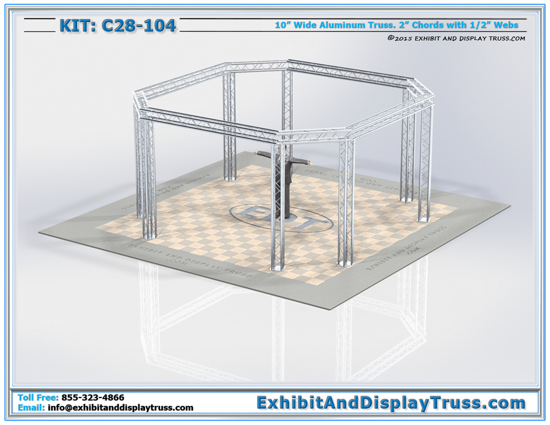 Kit: C28-104 / Truss System for Banner Displays and Large Product Displays
