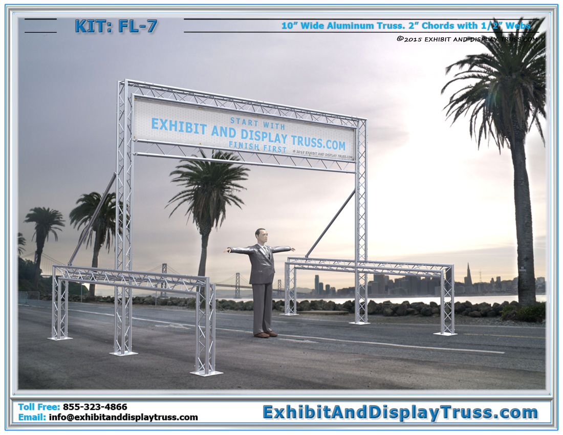 FL-7 Finish Line and Starting Line Kit / Strong Finish Line for Cycling Racing Events