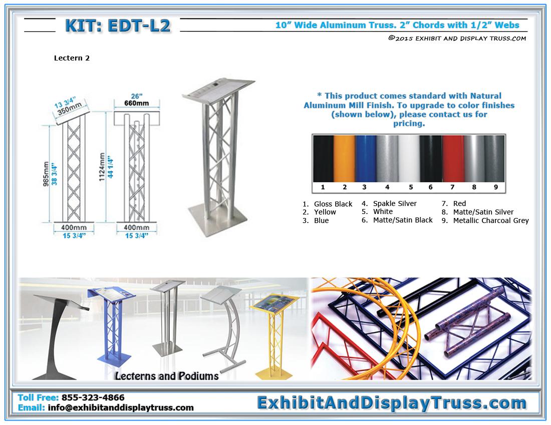 Kit: EDT-L2 / Lectern 2