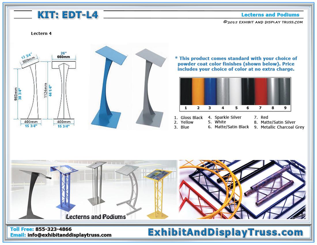 Kit: EDT-L4 / Lectern 4