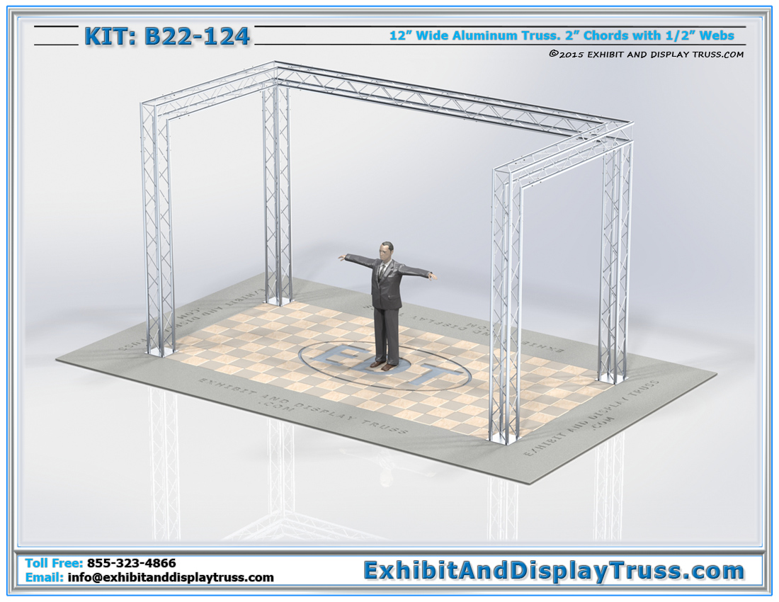 Kit: B22-124 / Durable Display Show Booth