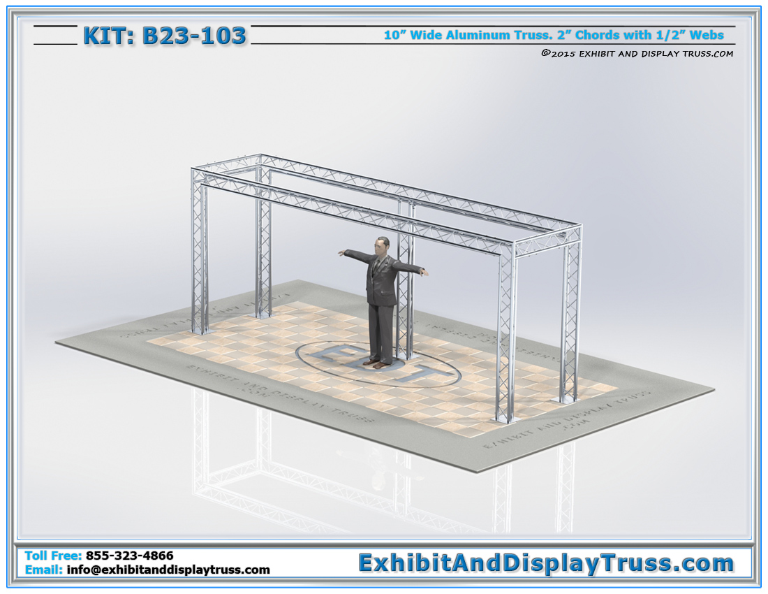 Kit: B23-103 / Aluminum Truss Banner Display Kit