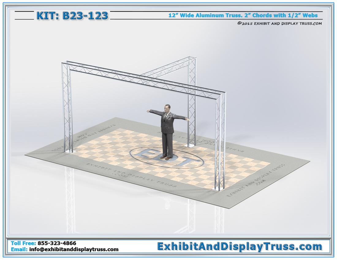 Kit: B23-123 / Best Portable Trade Fair Truss Display