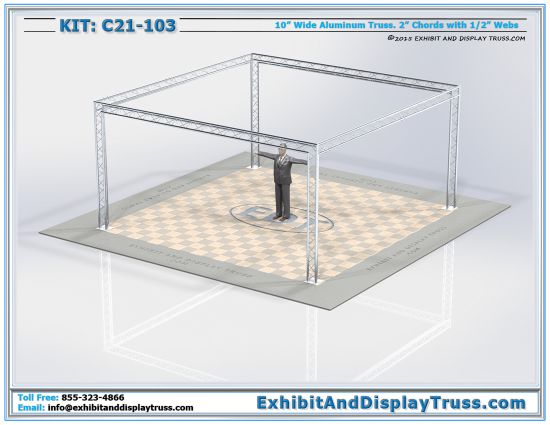 Kit: C21-103 / Cost-Effective Tradeshow Booth Design