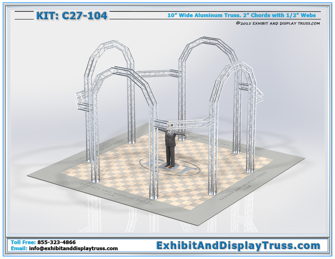 Kit: C27-104 / Attractive Trade Show Banner display