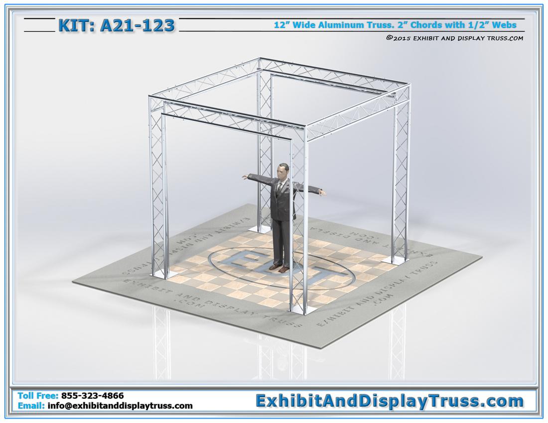 Kit: A21-123 / Durable Perimeter Aluminum Truss System