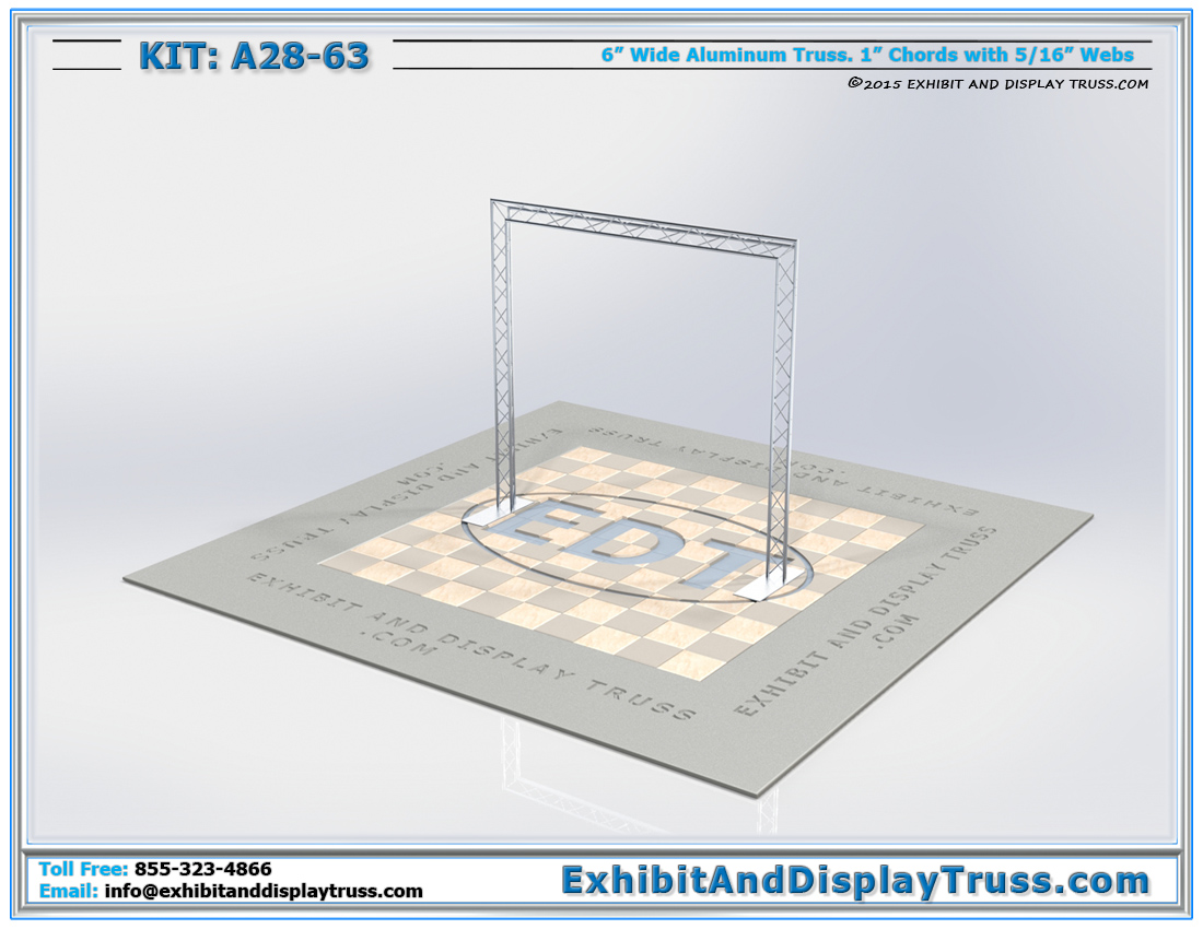 Kit: A28-63 / Portable Lighting Truss Kit and Truss Arch