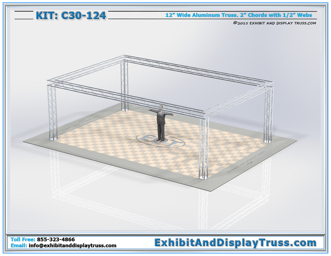 Kit: C30-124 / Modular Aluminum Truss System