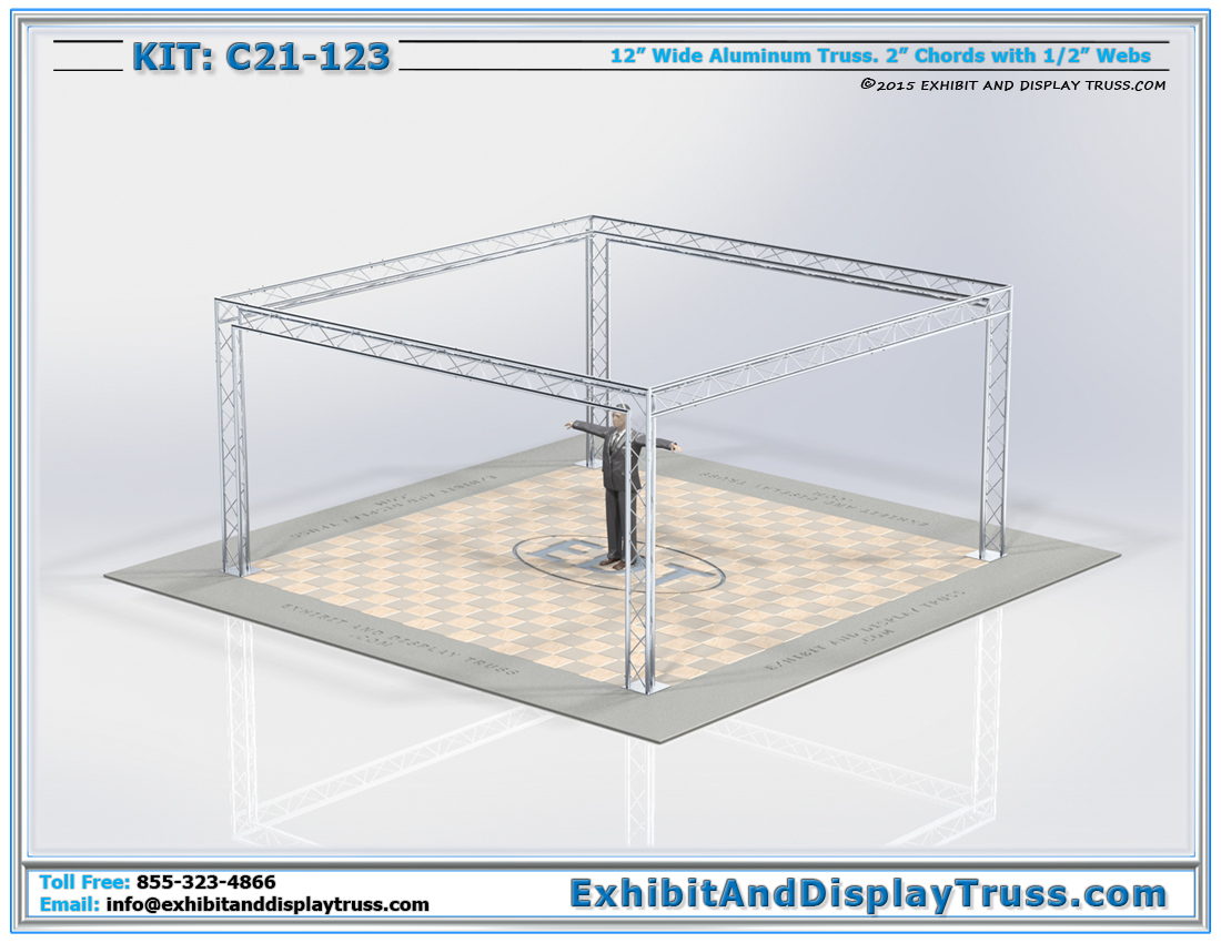 Kit: C21-123 / Modular Exhibit Truss System