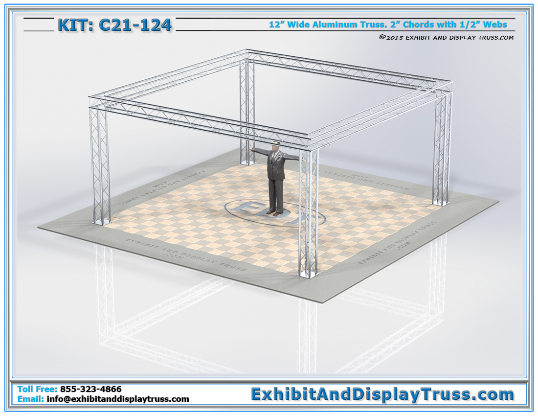 Kit: C21-124 / Trade Show Truss and Lighting Truss System
