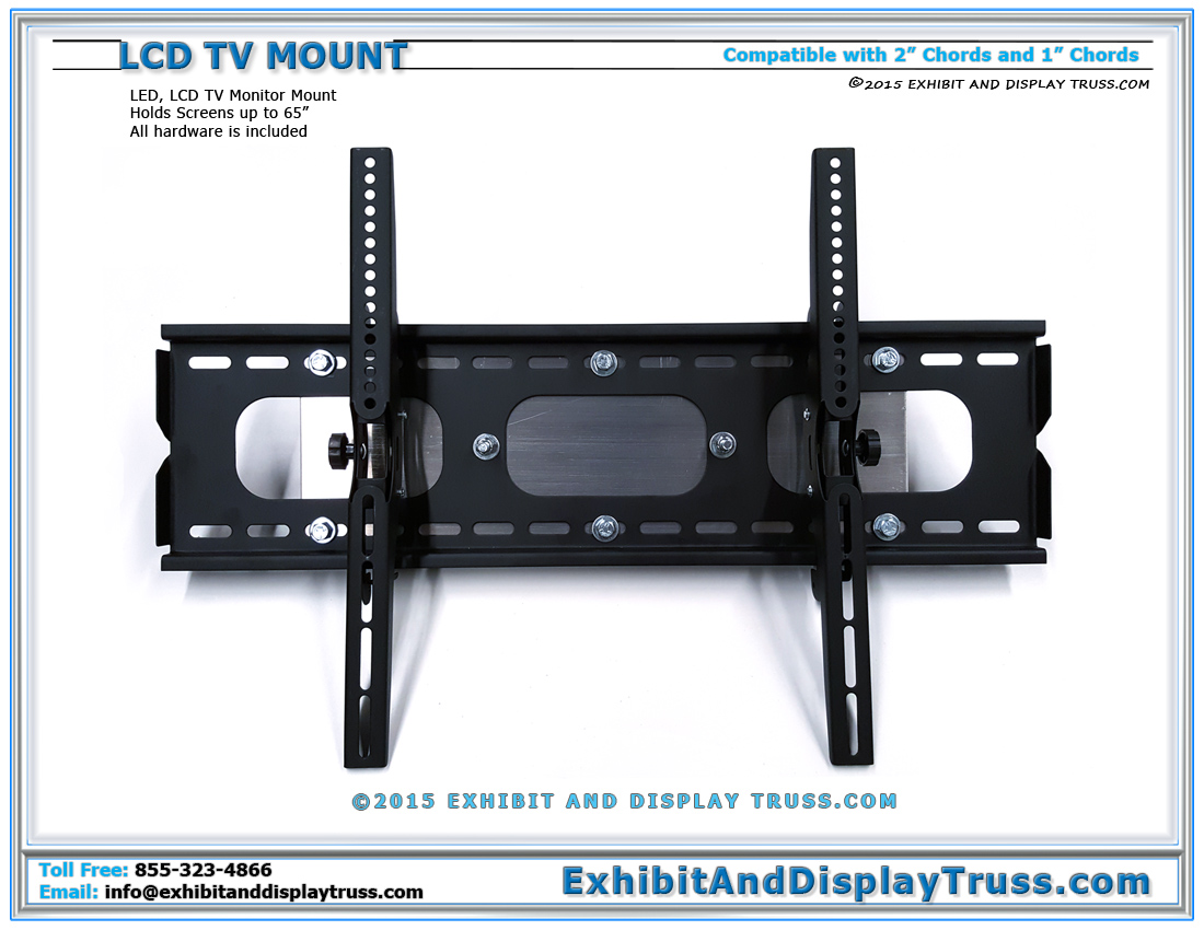 LED and LCD TV Mounts / Easily Hang TV Monitors on Truss with this Mount