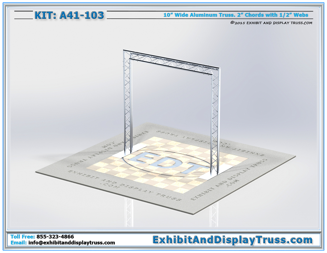Kit: A41-103 / Truss Entranceway Archway Systems
