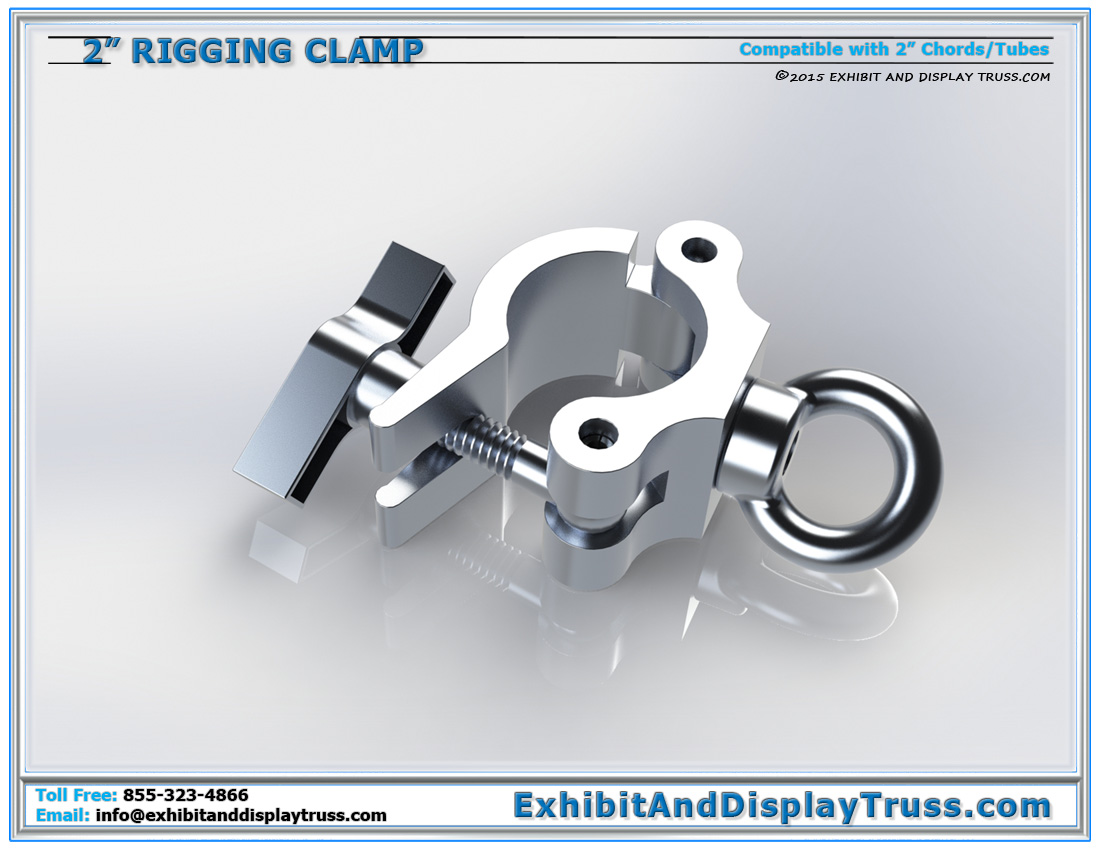 2″ Rigging Clamps / For Finish Lines and Flying Truss
